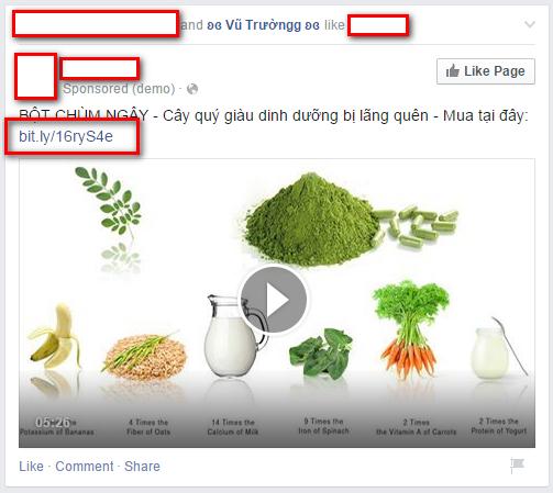 Hình 2: Liệu bao nhiêu người xem video này sẽ click vào link