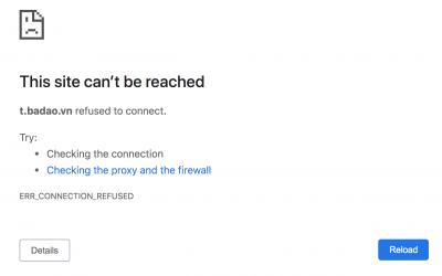 Lỗi khi trỏ domain về Google VM Instance